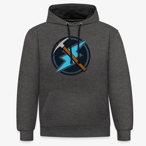 Electroneum - Basic - Sweat-shirt contraste