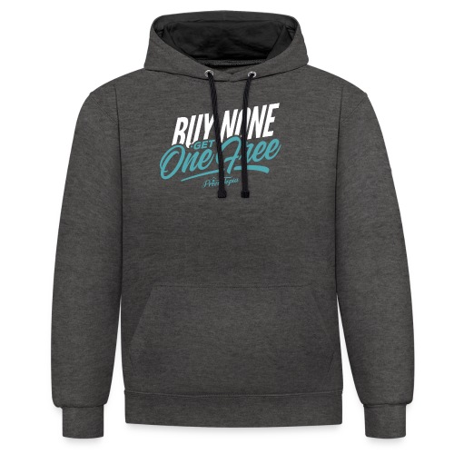 BNGOF - Contrast Colour Hoodie