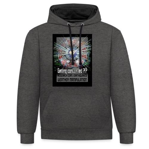 Getting conCERNed ?!? - Contrast hoodie