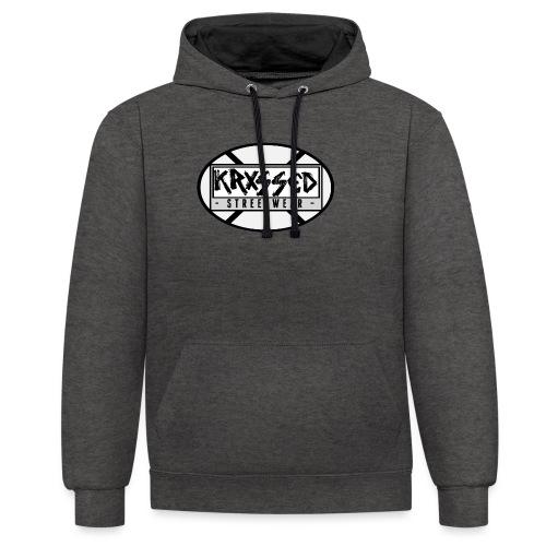 KRXSSED BASIC II - Contrast hoodie
