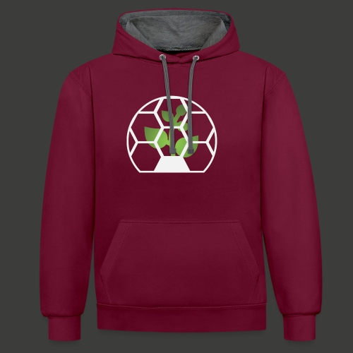 Biosphere Front - Contrast Colour Hoodie