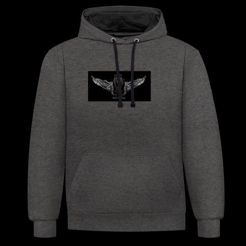 panthère ange - Sweat-shirt contraste