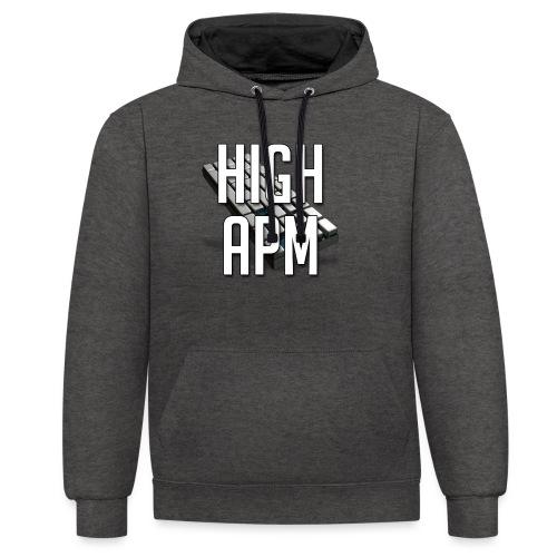 XpHighAPM - Sweat-shirt contraste