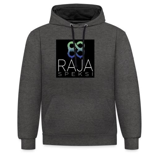 RajaSpeksin logo - Kontrastihuppari
