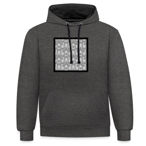 70th telly T-shirt V-Ausschnitt - Kontrast-Hoodie