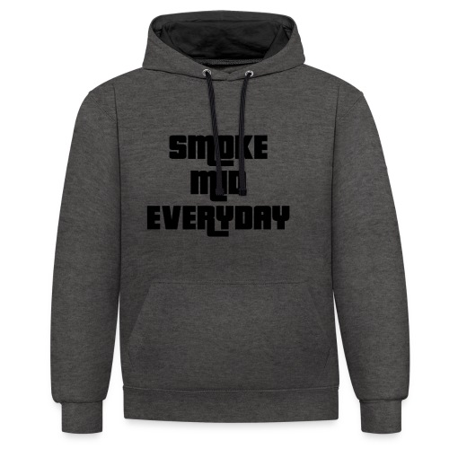 CSGO - Smoke Mid Everyday - Contrast Colour Hoodie