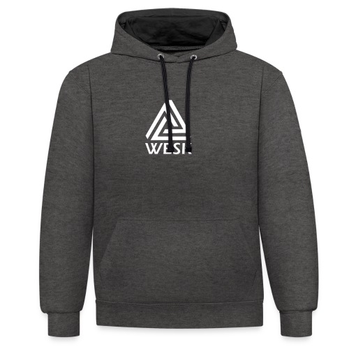 WESK Clothes - Contrast hoodie