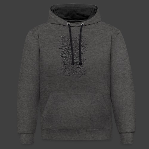 Twister - Contrast Colour Hoodie