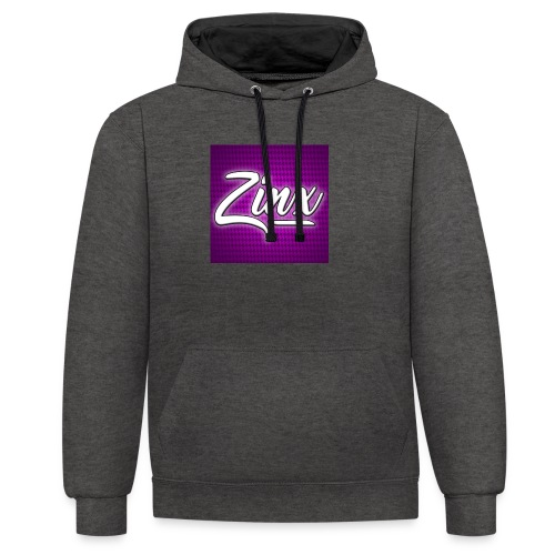 Zinx Merch - Contrast Colour Hoodie