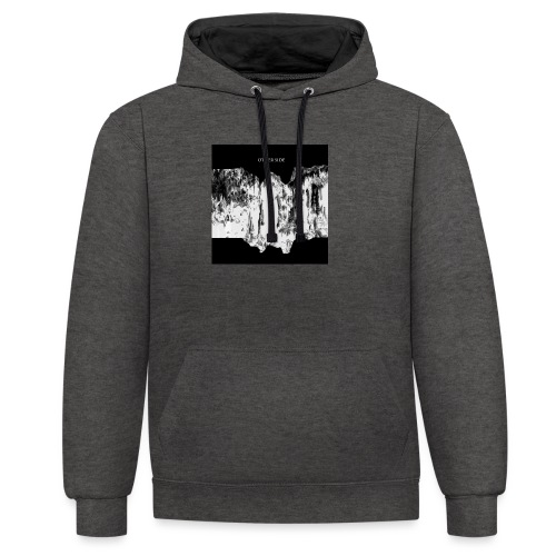 OTHER SIDE BLACK BOX - Sweat-shirt contraste
