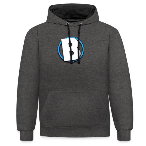 Bumble Logo - Contrast Colour Hoodie