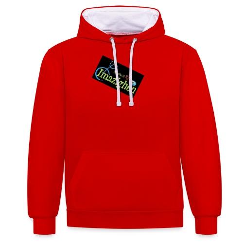 Imazighen ithran rif - Contrast hoodie