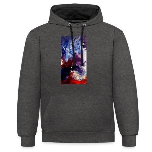 Ocean Vibes - Contrast hoodie