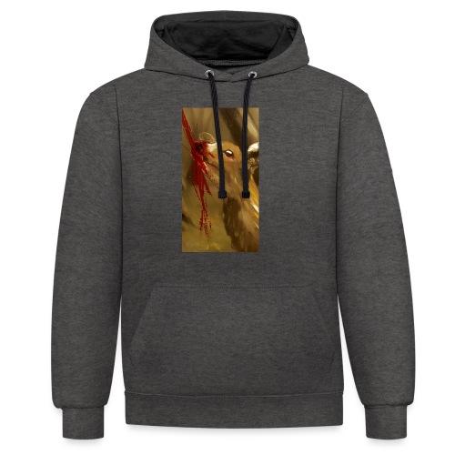 Shot? - Contrast hoodie