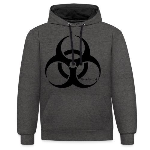 Biohazard - Shelter 142 - Kontrast-Hoodie