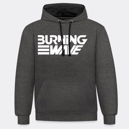 Burning Wave Block - Sweat-shirt contraste