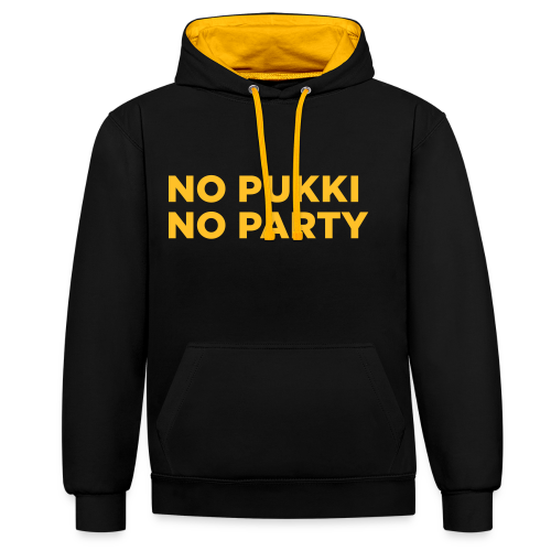 No Pukki, no party - Kontrastihuppari