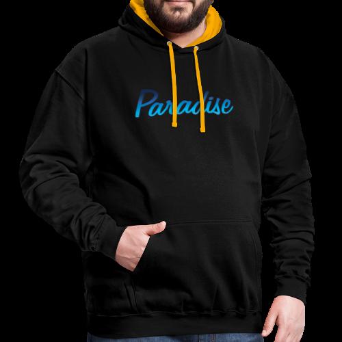 paradise logo - Sweat-shirt contraste
