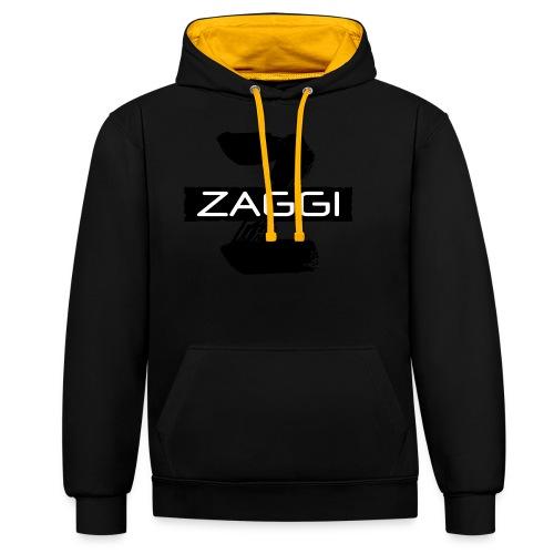 Z Black - Kontrast-hættetrøje