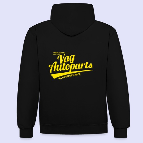 High Performance - Kontrast-Hoodie