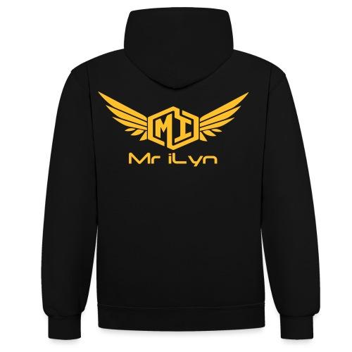 Mr iLyn - Kontrast-Hoodie