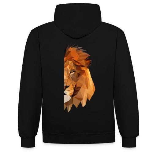 LION - MINIMALISTE - Sweat-shirt contraste