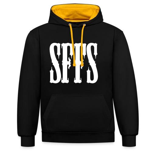 SFFS Salduie - Sudadera con capucha en contraste