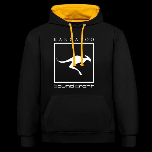 Kangaroo Soundfront - Kontrast-Hoodie