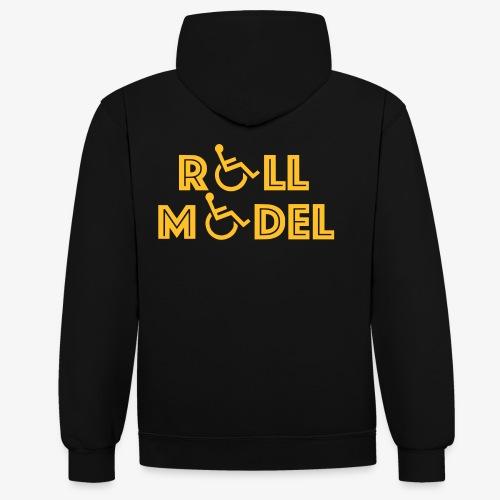 Rolstoel model - Contrast hoodie