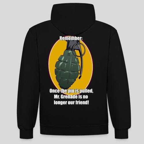 MrGrenade - Kontrast-Hoodie