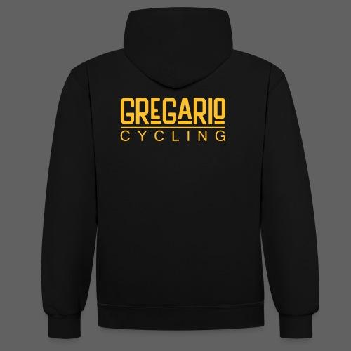 Gregario Cycling - Kontrast-Hoodie