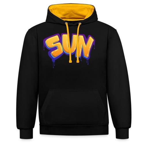 Tag Sun - Sweat-shirt contraste
