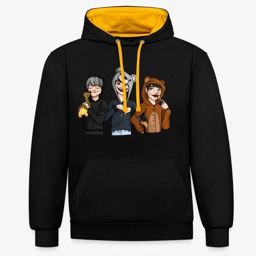 Team Potgrond - Contrast hoodie
