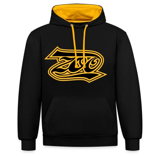 ZOO - Contrast hoodie