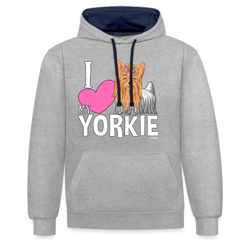 I love my Yorkie - Kontrastihuppari