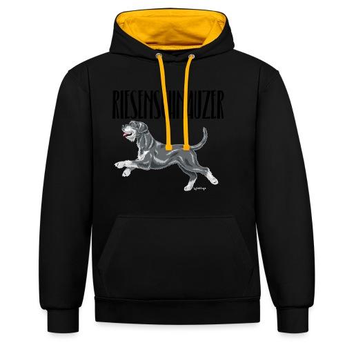 Riesenschnauzer 01 - Contrast Colour Hoodie