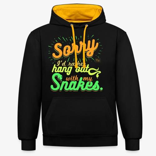 Sorry Snakes - Kontrastihuppari