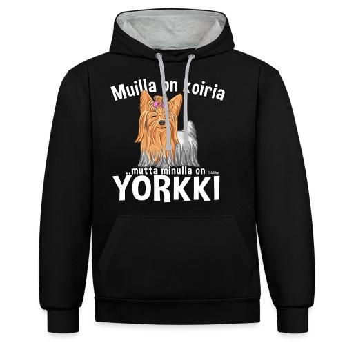 Yorkki Koiria - Kontrastihuppari