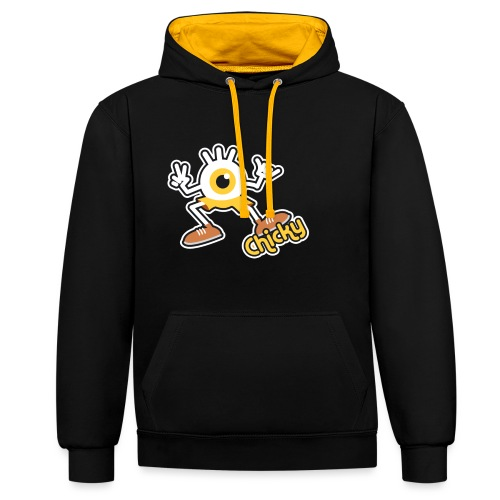 Chicky Full (Color) - Sweat-shirt contraste