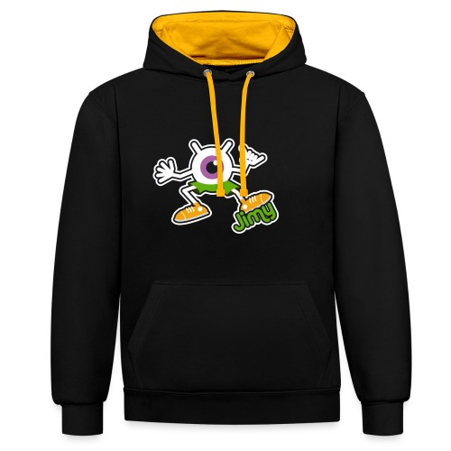 Jimy Full (Color) - Sweat-shirt contraste