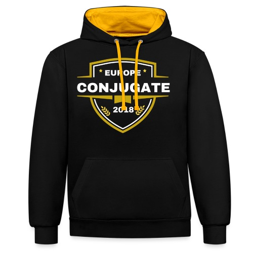 Conjugate luxury - Contrast Colour Hoodie