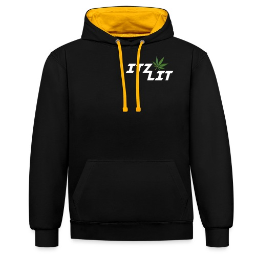 Untitled-1 - Contrast Colour Hoodie