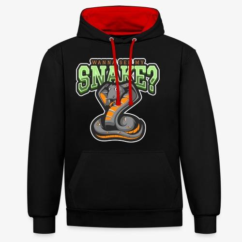 Wanna see my Snake III - Kontrastihuppari