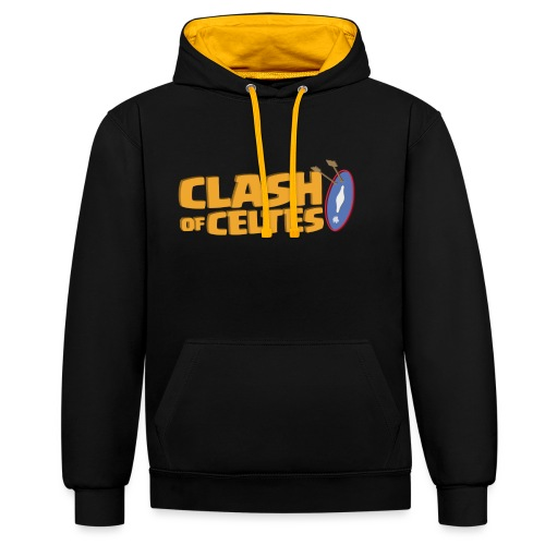 Clash of Celtes - Sweat-shirt contraste