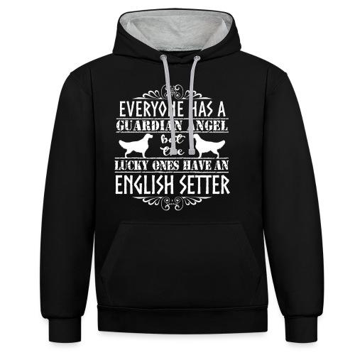 English Setter Angels - Kontrastihuppari