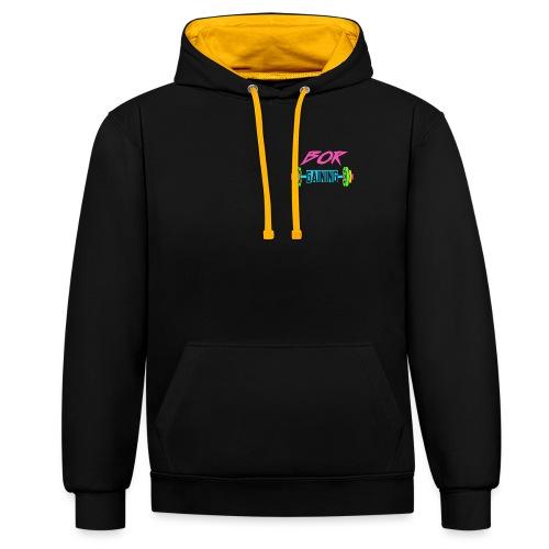 Gainz - Contrast Colour Hoodie
