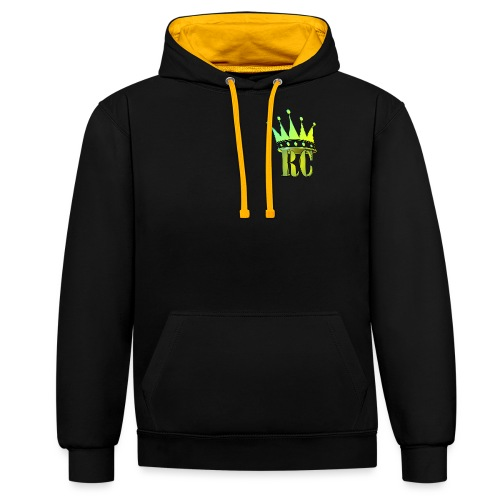 RC1 - Contrast Colour Hoodie
