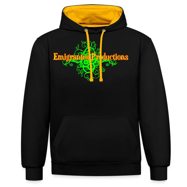 Emigrantes Productions logo SVG 3 couleurs