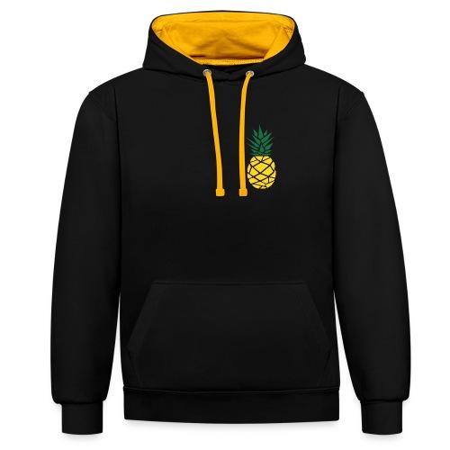 Pineapple - Contrast hoodie