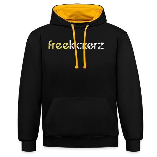 hoodie - premium - Kontrast-Hoodie